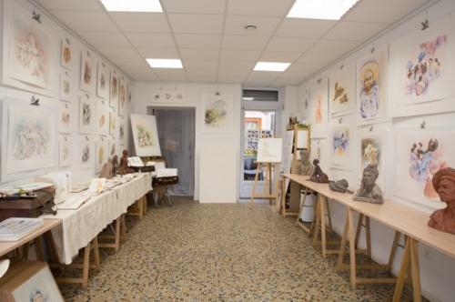 Exposition aquarelles 1