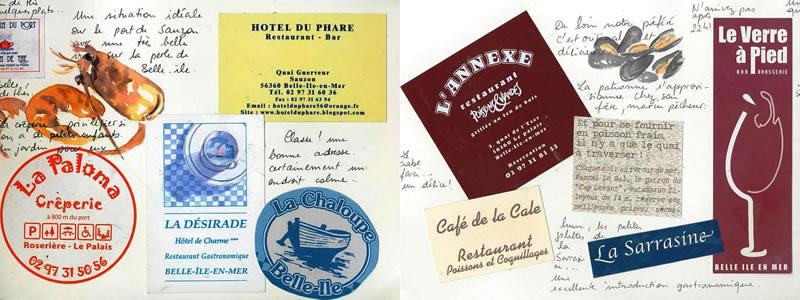 Carnet de voyage à Belle Ile 32