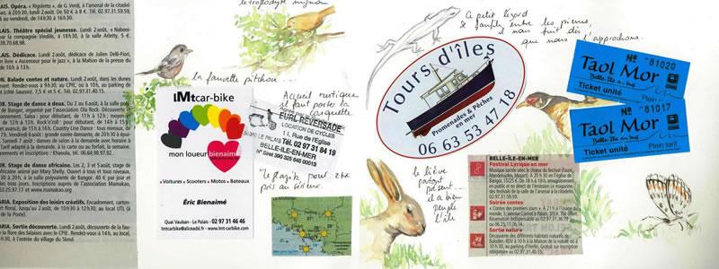 Carnet de voyage à Belle Ile 33