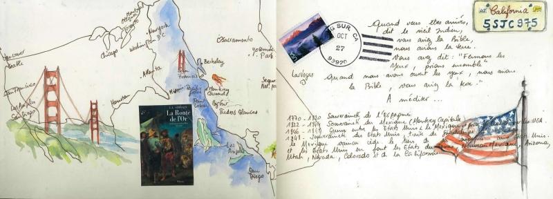 Carnet de voyage en Californie 1