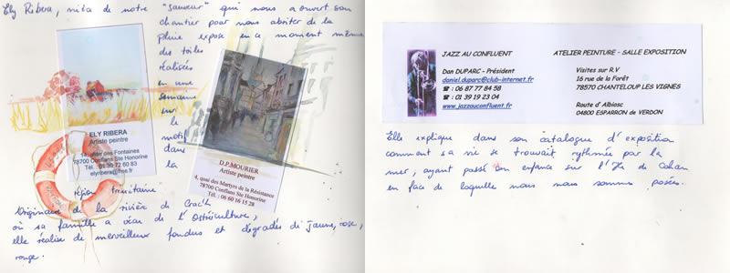 Carnet de voyage à Carnac. 15