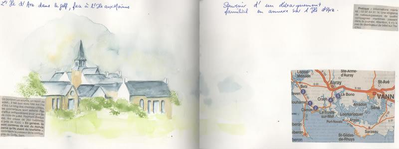 Carnet de voyage à Carnac. 28
