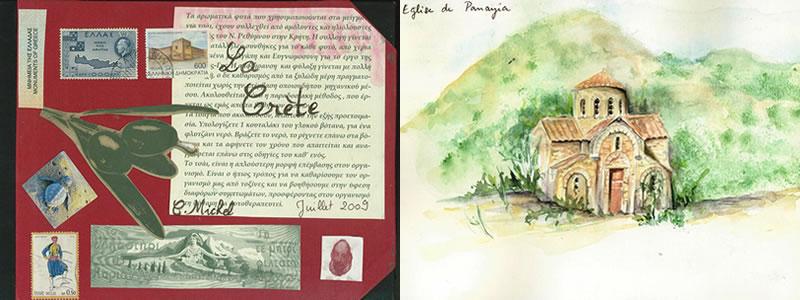 Carnet de voyage en Crète 1