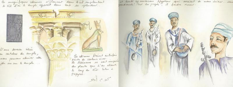 Carnet de voyage sur l'Egypte  25