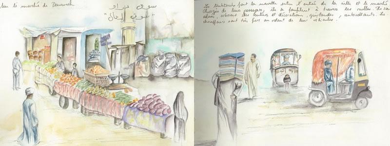 Carnet de voyage sur l'Egypte  28