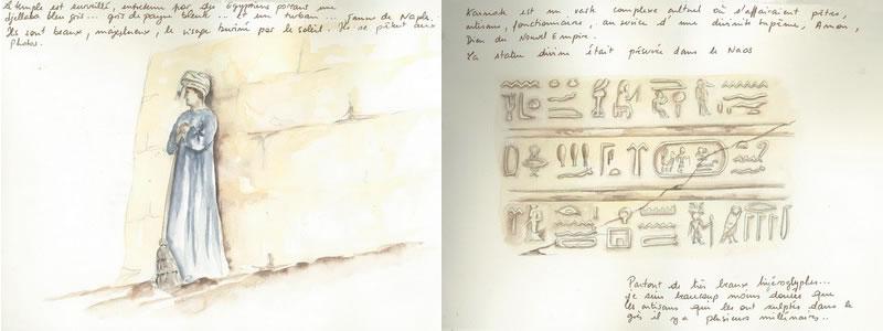 Carnet de voyage sur l'Egypte  5