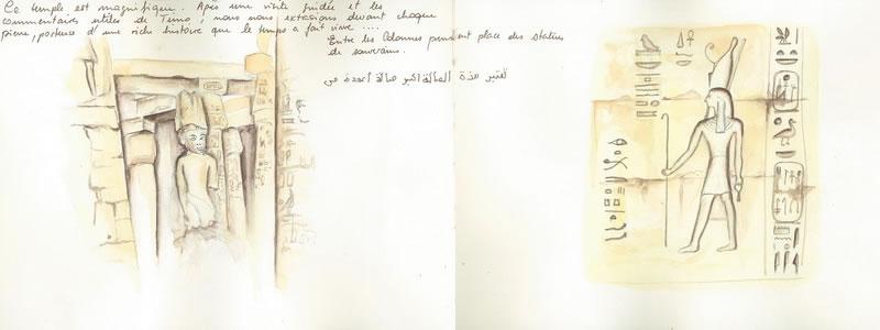 Carnet de voyage sur l'Egypte  6
