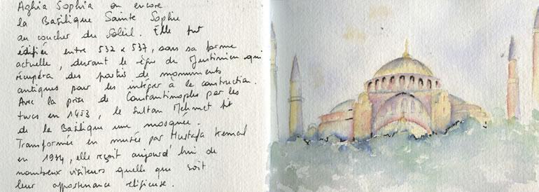 Carnet de voyage à Istanbul 1