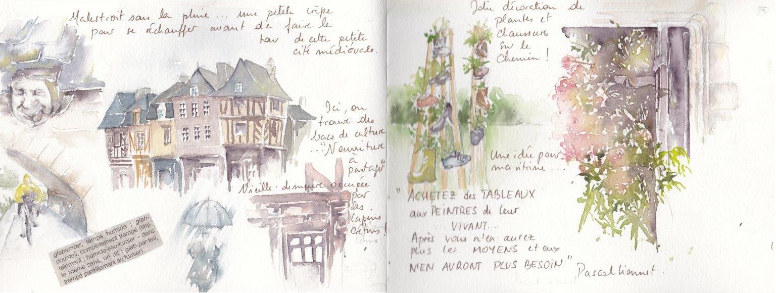 Carnet de voyage à vélo de Nantes à Carnac 10