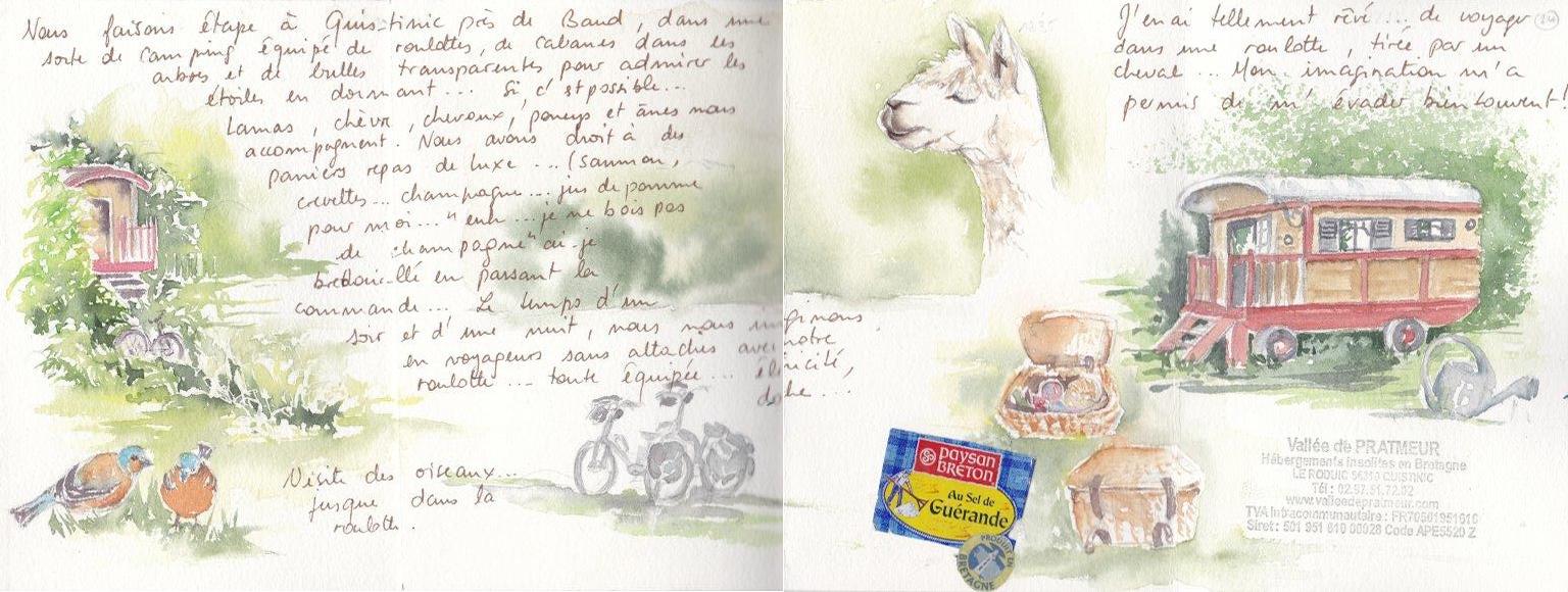 Carnet de voyage à vélo de Nantes à Carnac 13