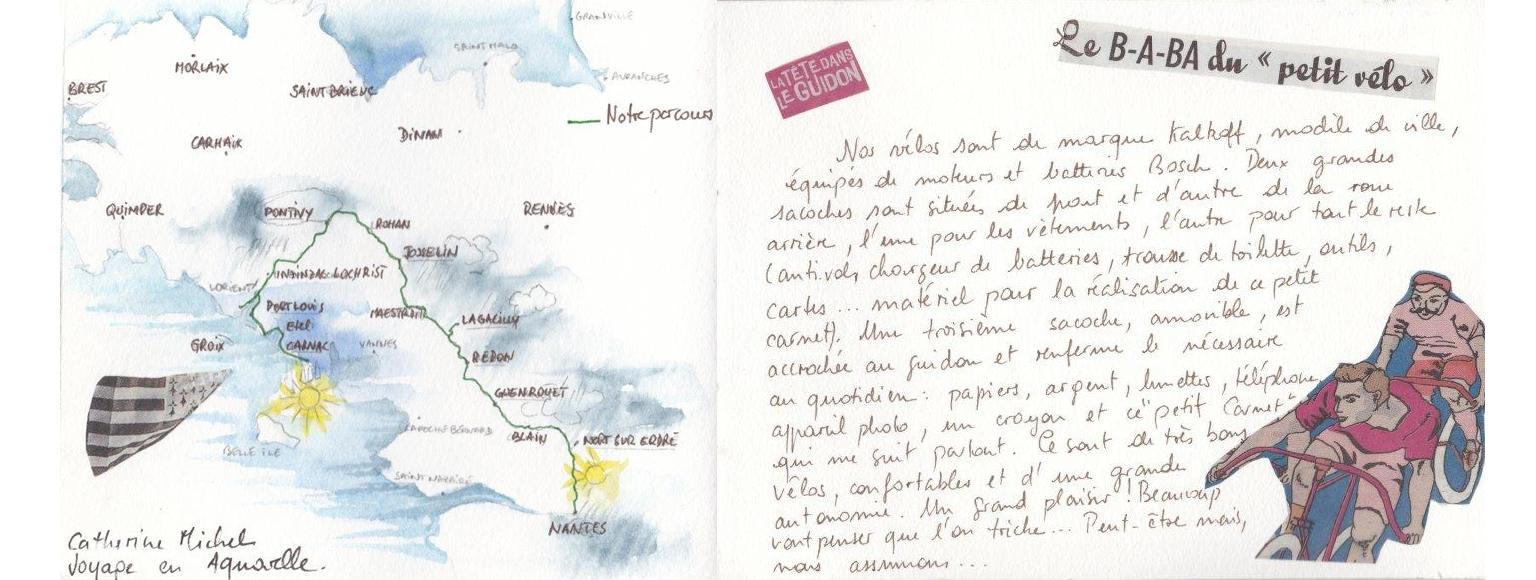 Carnet de voyage à vélo de Nantes à Carnac 2