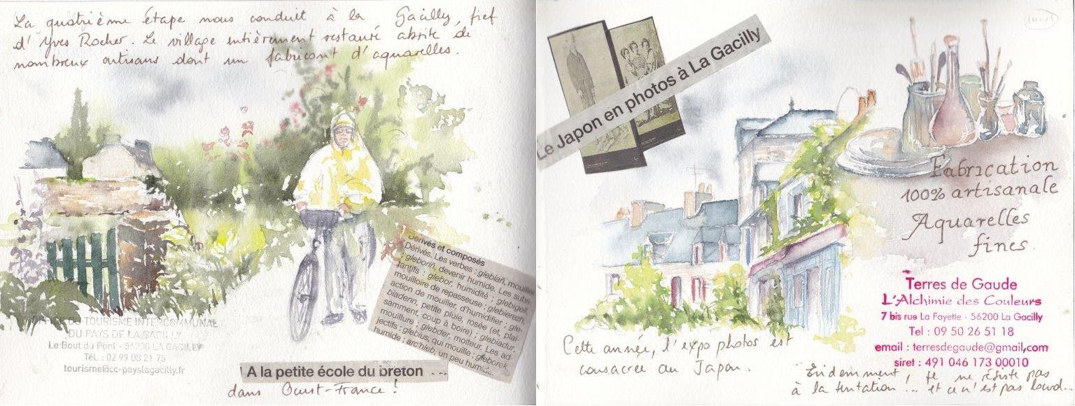 Carnet de voyage à vélo de Nantes à Carnac 8