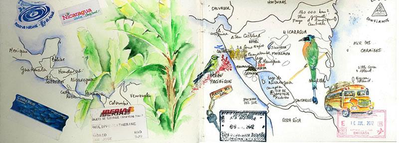 Carnet de voyage au Nicaragua 1