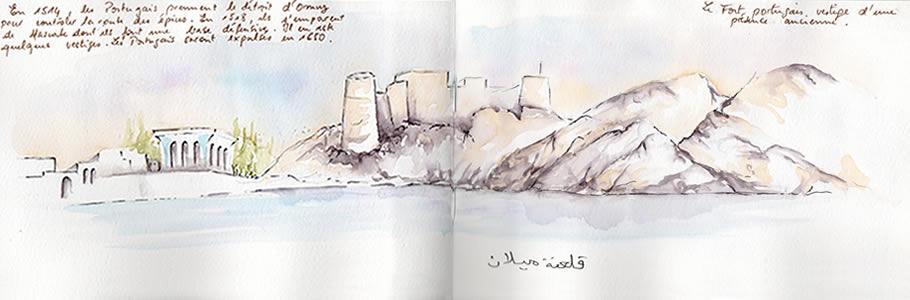 Carnet de voyage à Oman 6