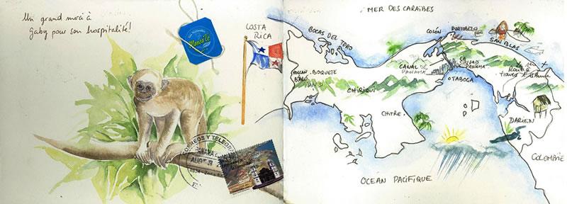 Carnet de voyage au Panama 1