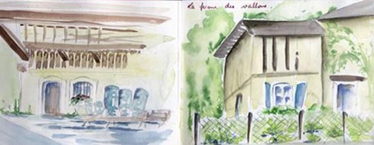 Carnet de voyage à Samoëns (Haute savoie)  2