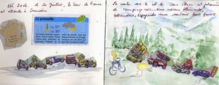 Carnet de voyage à Samoëns (Haute savoie)  7
