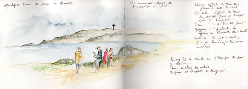 Carnet de voyage à l'ile d'Yeu 13