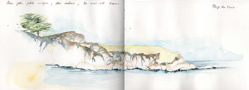 Carnet de voyage à l'ile d'Yeu 17