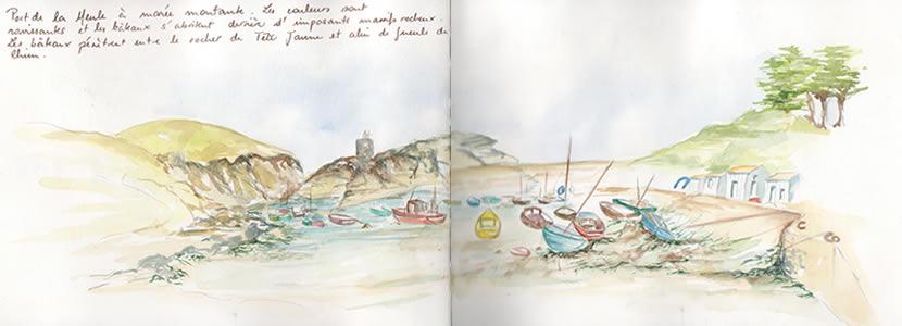 Carnet de voyage à l'ile d'Yeu 4
