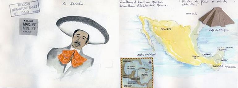 Carnet de voyage au Yucatan  1