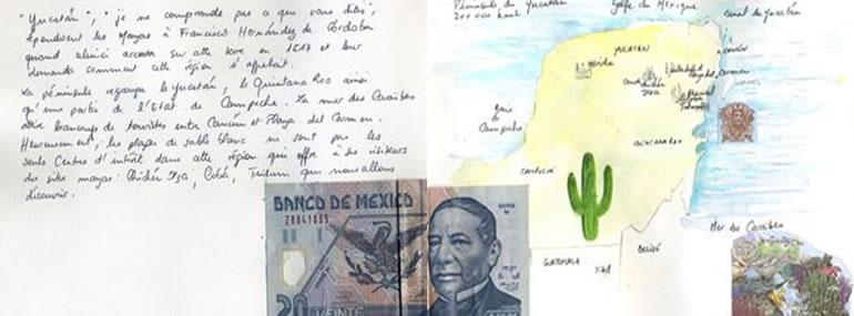 Carnet de voyage au Yucatan  2