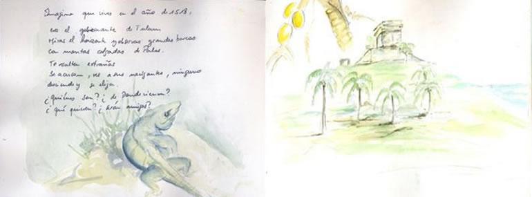 Carnet de voyage au Yucatan  4